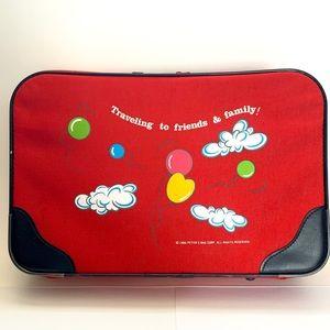 Vintage Travel Overnight Suitcase Kids